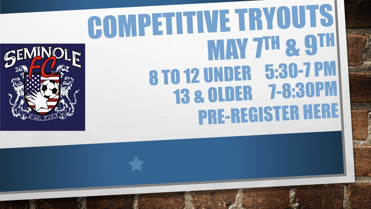 Competitive Tryouts